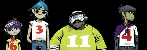 gorillaz le groupe le plus populaire sur myspace madonna video 4 minutes