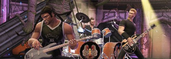 metallica vs the beatles guitar hero vs rock band video game